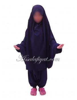 """Jilbab fille/ado  2 pièces """"Assalafiyat"""""""