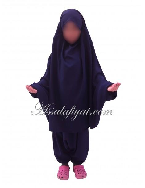 "Jilbab fillette 2 piéces ""Assalafiyat"""