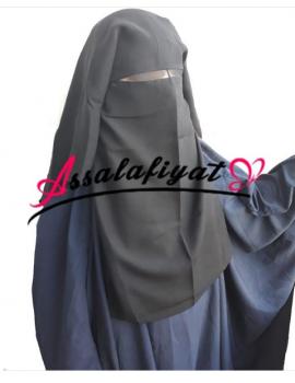 Niqab/sitar saudi 3 voiles