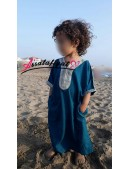 Qamis marocain bébé/enfant Jabador/Gandoura