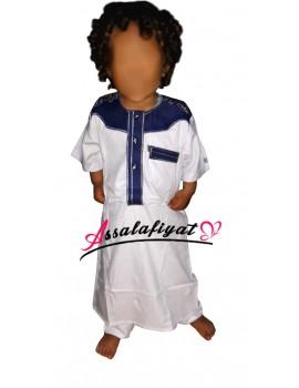 Qamis bébé/garçon coton ARAYANE