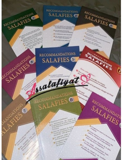 Recommantions salafis 1 a 9