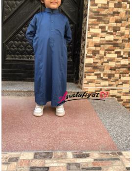 Qamis garçon satiné Al Anaqah