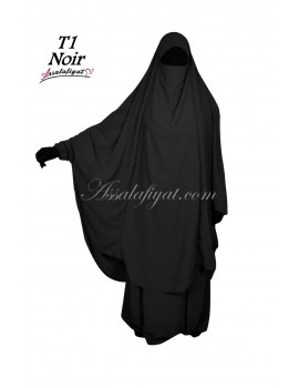 "Jilbab 2 pieces ""Assalafiyat"" X-tra wide"